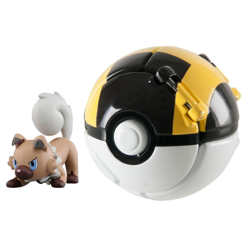 Pokémon Throw 'n' Pop Poké Ball, Rockruff and Ultra Ball