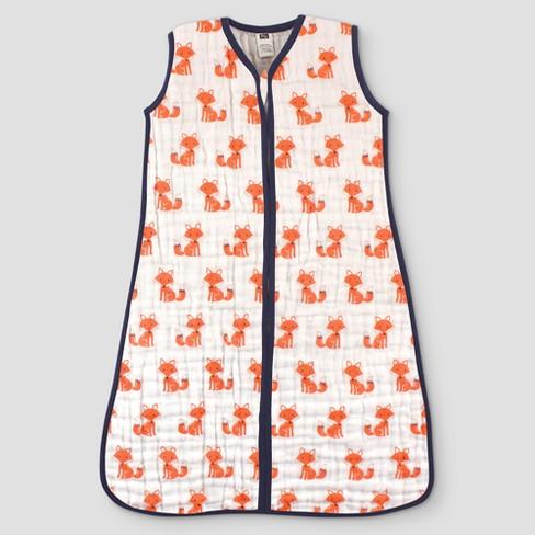 Hudson Baby Muslin Safe Sleep Wearable Sleeping Bag - image 1 of 1