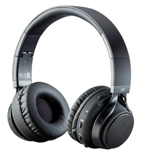 Monoprice 2 In 1 Bluetooth Wireless Headphones With External Speakers Superior Hi Fidelity Sound Up To 32 Hours Target