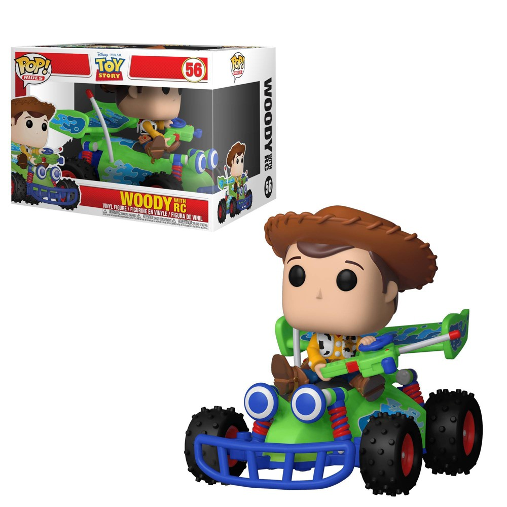 UPC 889698370165 product image for Funko Pop! Rides: Toy Story - Woody with RC | upcitemdb.com