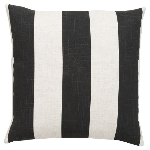 Vertical Stripes Throw Pillow - Surya - image 1 of 1