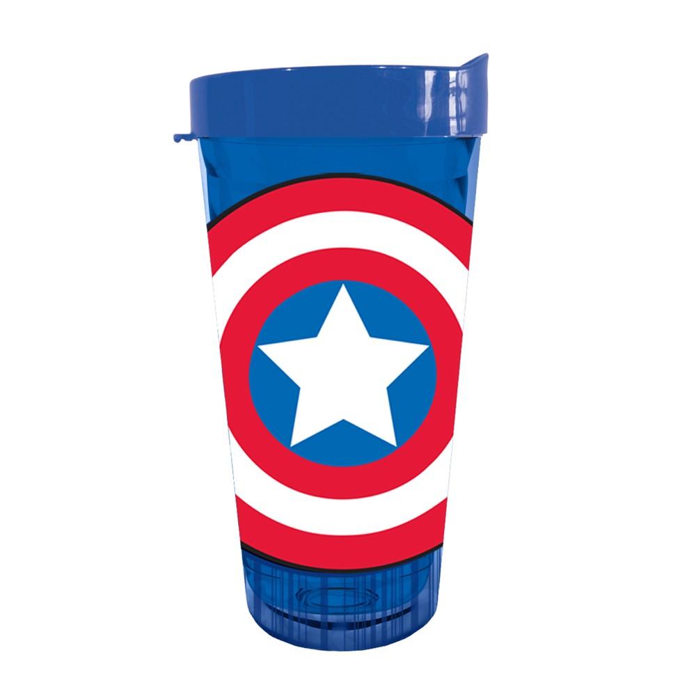 Marvel Captain America Shield USA Tumbler, Multi-Colored