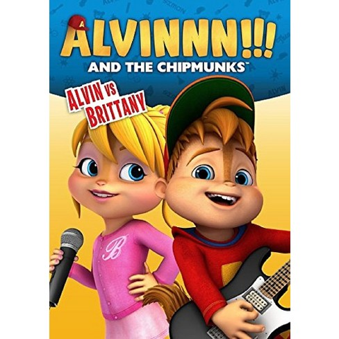 Alvin And The Chipmunks: Alvin vs  Brittany (DVD)