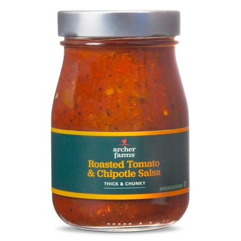 Roasted Tomato & Chipotle Salsa Medium 16oz - Archer Farms™ - image 1 of 1
