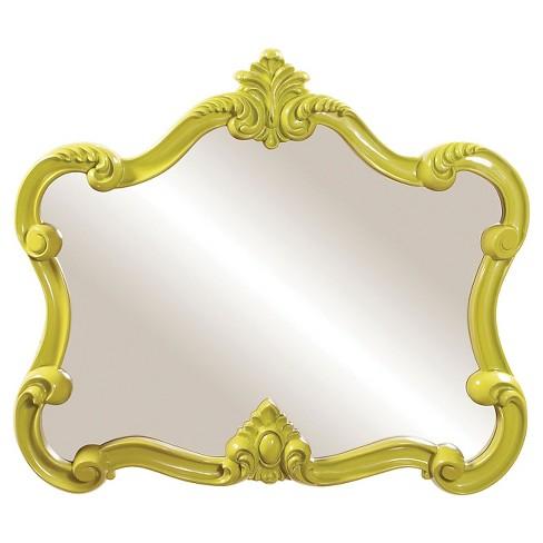 Veruca Decorative Wall Mirror Green - Howard Elliott - image 1 of 2
