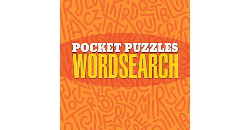 Pocket Puzzles Wordsearch (Paperback) - image 1 of 1