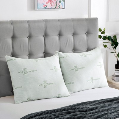 Peace Nest Bamboo Rayon Bed Pillows Set of 2