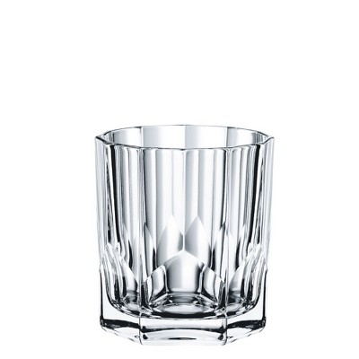 Nachtmann Aspen Glass Double Old Fashion 11.44oz Set of 4