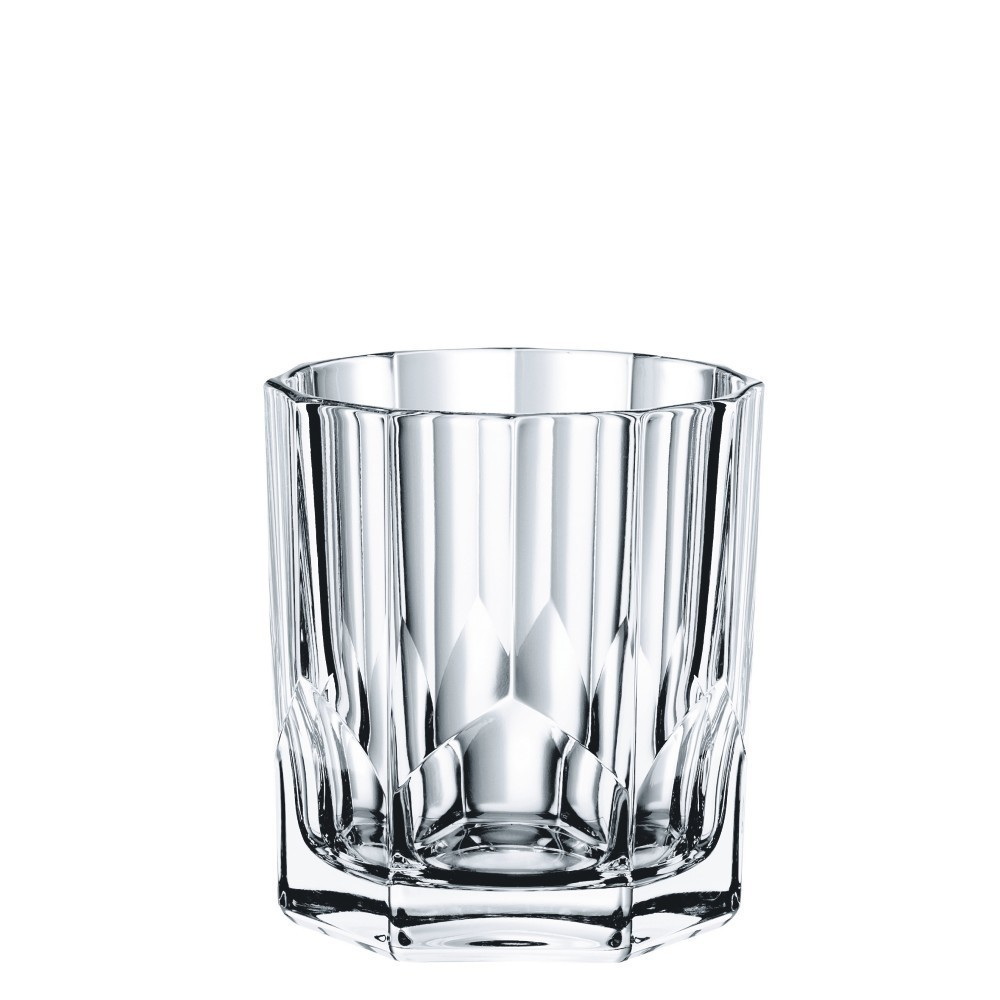 Nachtmann Aspen Glass Double Old Fashion 11.44oz Set of 4