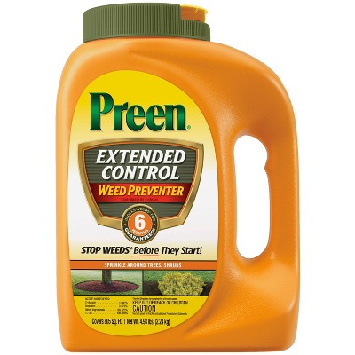 Preen Extended Control Weed Killer Herbicide - 4.93lbs