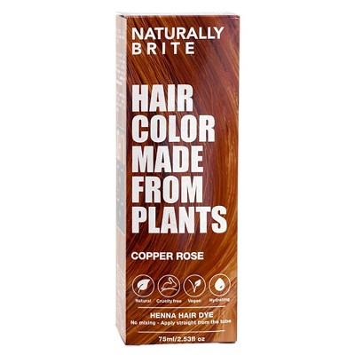BRITE Naturally Henna Hair Dye Copper Rose - 2.53 fl oz