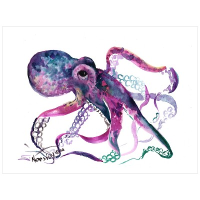 Octopus 4 by Suren Nersisyan Unframed Wall Art Print