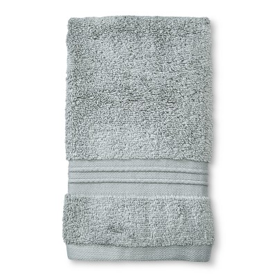 MicroCotton® Spa Hand Towel Gray - Fieldcrest®