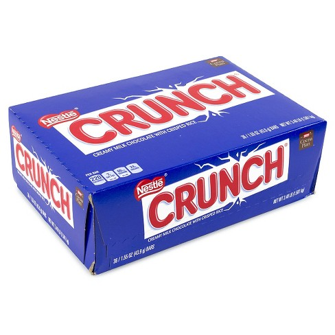 Crunch Chocolate Candy Bars - 1.55oz/36ct - image 1 of 2