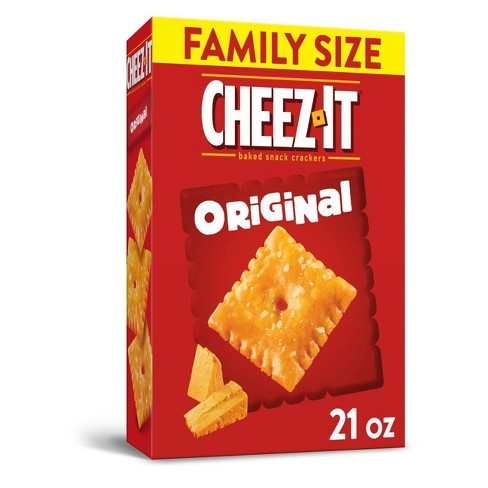 Cheez-It Original Baked Snack Crackers - 21oz : Target