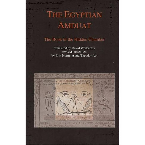 The Egyptian Amduat - by  Erik Hornung (Hardcover) - image 1 of 1