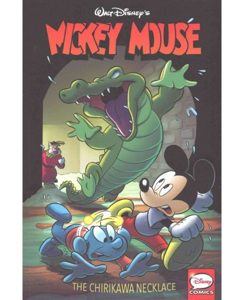 Mickey Mouse : The Chirikawa Necklace (Paperback) (Romano Scarpa & Wilfred Haughton & Bill Walsh & Cal - image 1 of 1