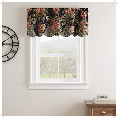 "18""x52"" Kensington Bloom Window Valance - Waverly"