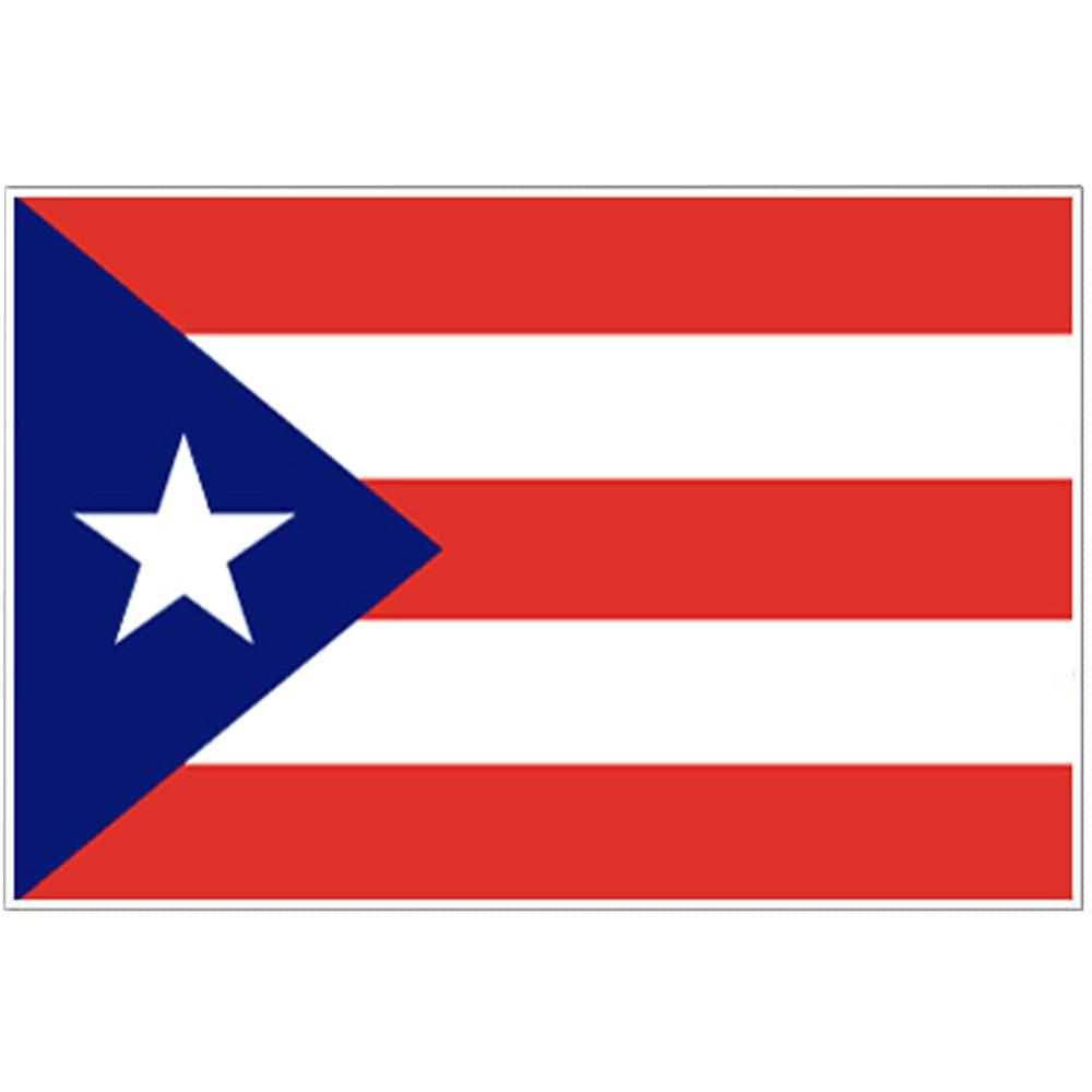 Image of Halloween Puerto Rico Flag - 4' x 6'