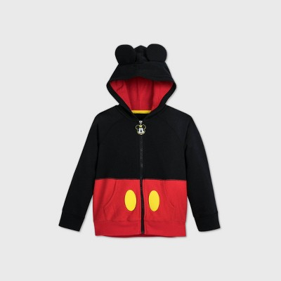 Boys' Disney Mickey Mouse 'I am Mickey' Hoodie - Red/Black - Disney Store