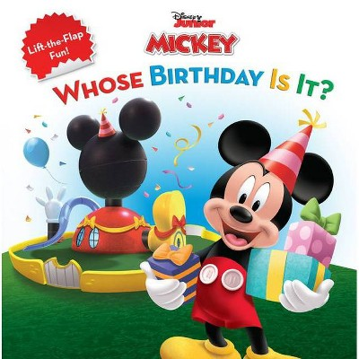 Mickey Mouse Clubhouse Whose Birthday Is It? - by  Sheila Sweeny Higginson (Paperback)