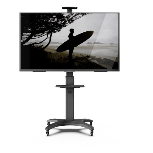 Kanto MTMA65PL Mobile TV Mount with Adjustable Shelf for 32-inch to 65-inch TVs - image 1 of 4
