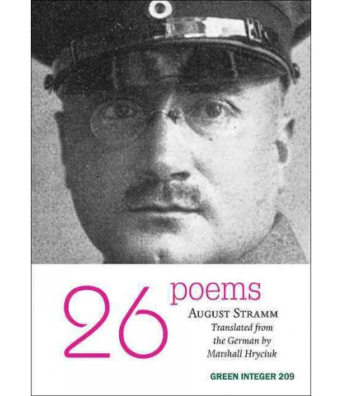 26 Poems -  by August Stramm (Paperback) - image 1 of 1