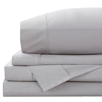 Great Bay Home 100% Cotton Percale Sheet Set