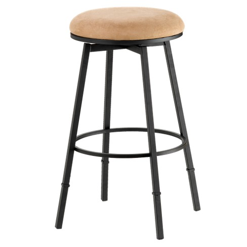 "Sanders Backless 24"" Counter Stool Metal/Suede - Hillsdale Furniture - image 1 of 1"