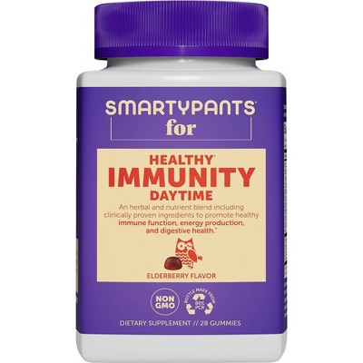 SmartyPants Healthy Adult Daytime Immunity Gummies - 28ct