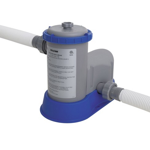 Bestway 58390E Flowclear 1500 Gph Filter Pump For Above Ground ...
