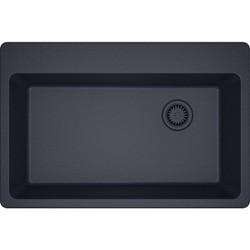 "Elkay ELG13322 Gourmet 33"" Single Basin Granite Composite Kitchen Sink for Drop In Installations"