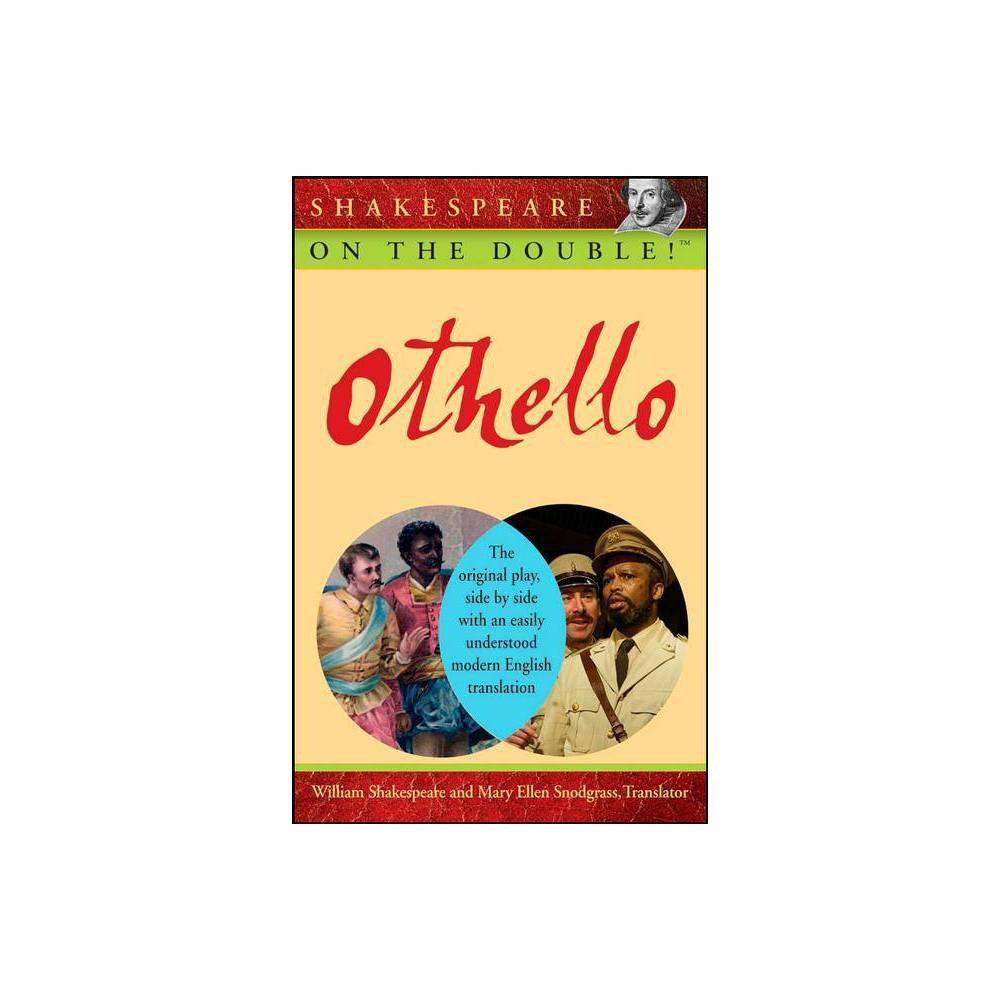 Othello Shakespeare On The Double By William Shakespeare Paperback
