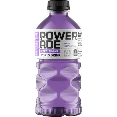 POWERADE Zero Grape Sports Drink - 28 fl oz Bottle