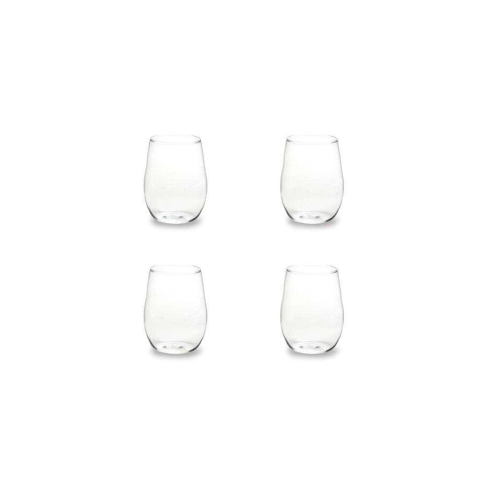 14oz 4pk Glass Farm To Table Wine Glasses Rosanna