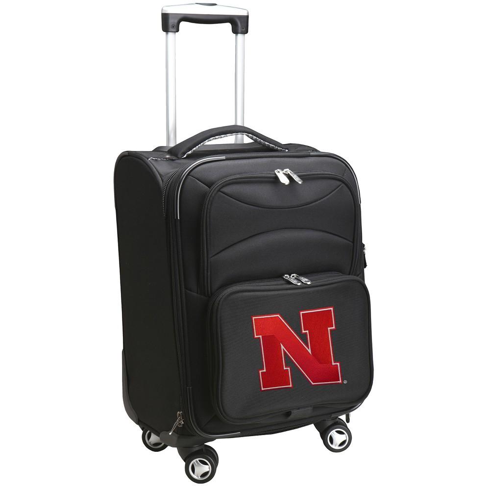 NCAA Nebraska Cornhuskers Spinner Carry On Suitcase