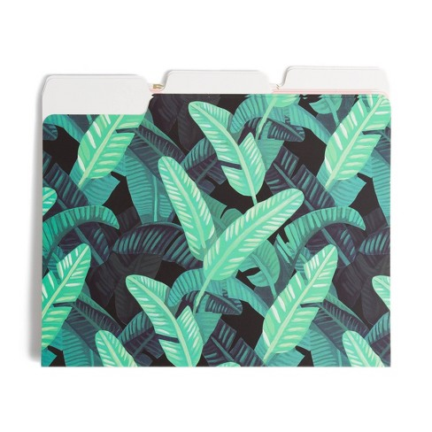6ct Plant File Folders - UBrands - image 1 of 3