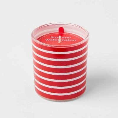 5.5oz Americana Glass Jar Summer Watermelon Candle - Sun Squad™