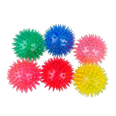 6ct Light-Up Spiky Ball - Spritz™