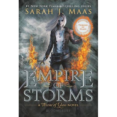 Empire of Storms (Miniature Character Collection) - (Throne of Glass, 5) by  Sarah J Maas (Paperback)