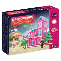 Magformers Sweet House 64 PC House