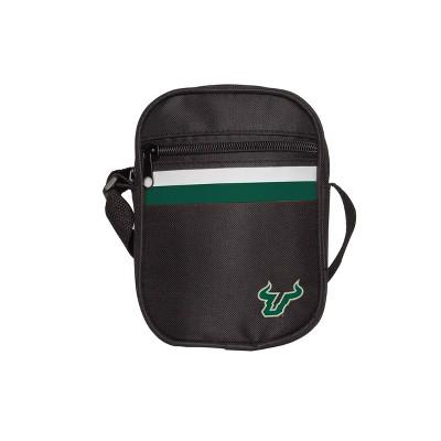 NCAA South Florida Bulls Black Mini Messenger Bag