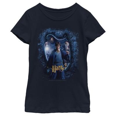 Girl's Harry Potter Chamber Of Secrets Harry Portrait T-Shirt