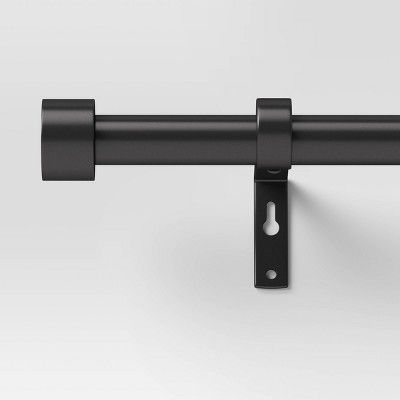 "36""-66"" Dauntless Curtain Rod Black - Project 62™"