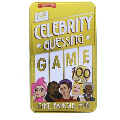 University Games The Celebrity Guessing Card Game | For 4+ Players