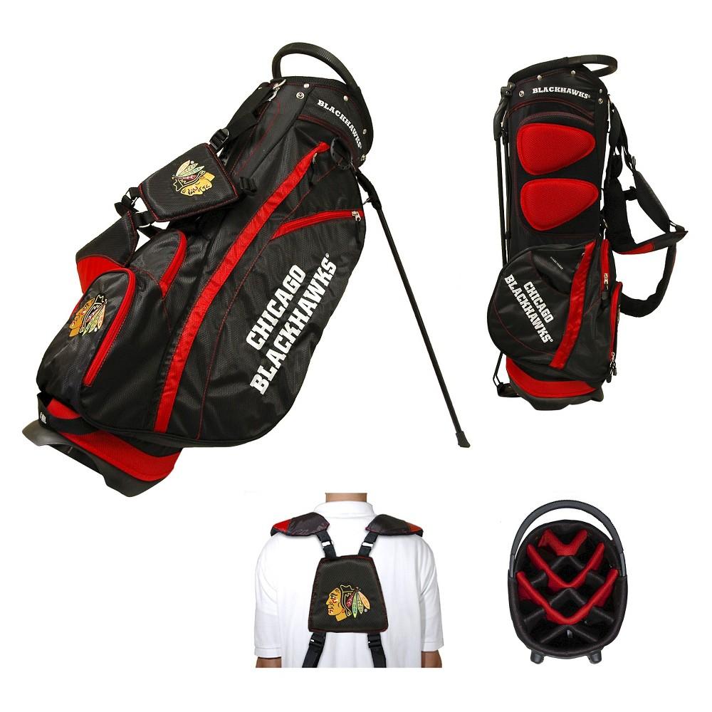 NHL Fairway Stand Bag Golf Accessories Set Chicago Blackhawks
