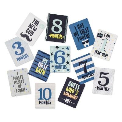 Milestone Cards Starry Slumber 12pk (4 x6 )- Cloud Island™ Blue