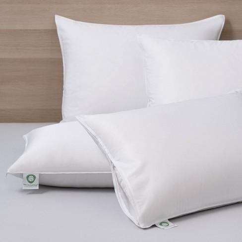Hypoallergenic Allergen Barrier Pillow Protector 2-pk - image 1 of 3