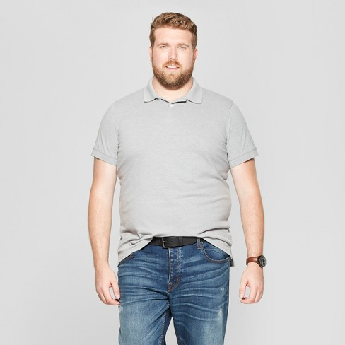 Men's Big & Tall Short Sleeve Loring Polo T - Shirt - Goodfellow & Co™ - image 1 of 3
