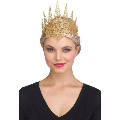 Fun World Glitter Crown (Gold)